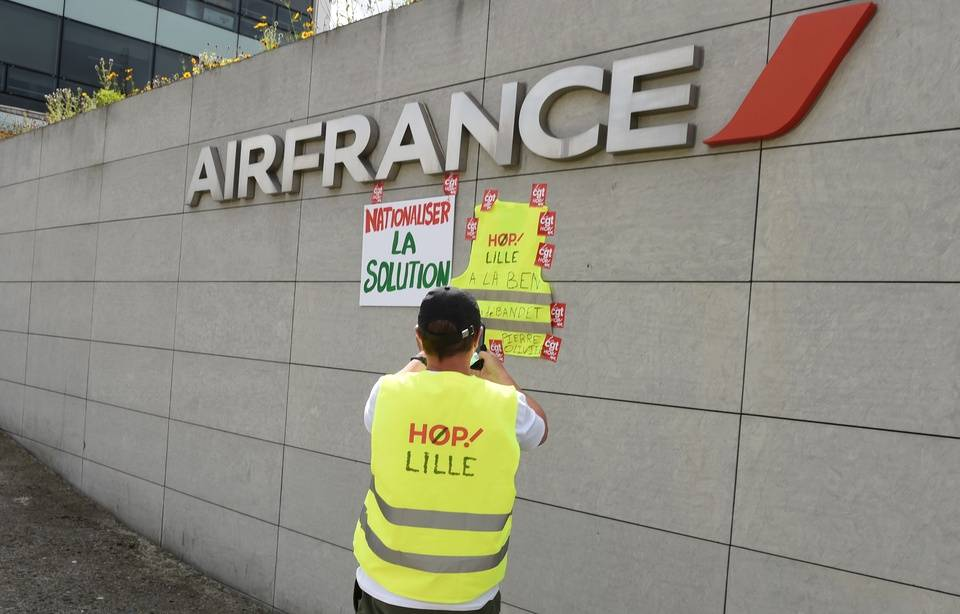 Le groupe Air France va supprimer 7.580 postes chez Air France et Hop !